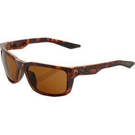 100% Daze Smoke Glasses matte dark havana